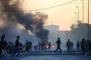 ერაყში დემონსტრანტების წინააღმდეგ ძალა გამოიყენეს, მოკლულია 157 ადამიანი