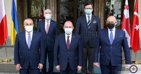 Министры Румынии, Польши и Турции выразили поддержку Грузии и Украине