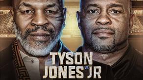 Tyson - Jones fight ends in a draw