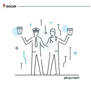 SOCAR to treat ambulance doctors and patrol police to free coffee