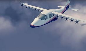NASA создало электрический самолет