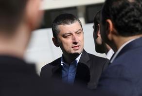 Георгий Гахария встретился с жителями района Вазисубани