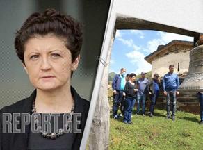 Tea Tsulukiani visits Mestia, Ushguli and Zemo Svaneti villages