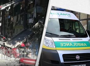 Горожан эвакуируют из обрушившегося здания