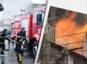 Пожар на улице Тамарашвили - найдено тело мужчины