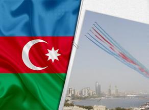 В Азербайджане провели подготовительные полеты к Параду победы
