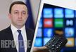 Irakli Gharibashvili: TV Channels transformed into divisions of party organizations