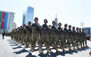 10 декабря в Азербайджане пройдет военный парад