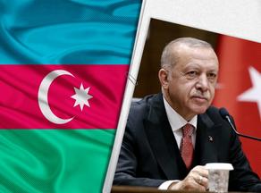 Turkey's president Recep Tayyip Erdogan visits Azerbaijan