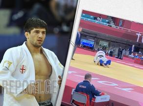Lasha Shavdatuashvili in the semifinals