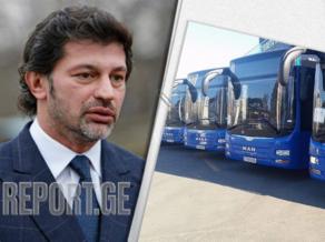 Kakha Kaladze says when public transport resumes operation in Georgia