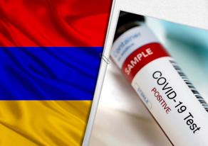 В Армении выявлено 843 новых случая инфицирования COVID-19