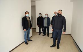 260 დევნილ ოჯახს თბილისში ბინები ორი თვის განმავლობაში გადაეცემა