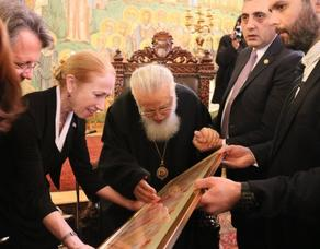 Патриарх Грузии принял нового посла США - ФОТО
