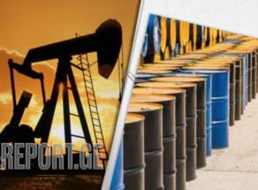 Мировые цены на нефть незначительно упали