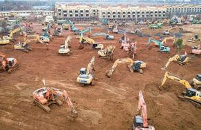 China is building a hospital for coronavirus patients - PHOTO - VIDEO