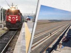 თურქეთიდან ჩინეთში მიმავალი საექსპორტო მატარებელი საქართველოშია