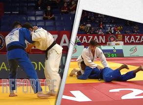 Saneblidze and Maisuradze to wrestle in semifinals of the Kazan Grand Slam