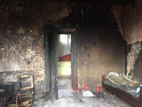 2 women killed in a fire in Tskaltubo
