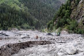 В Сванетии борются со стихийным бедствием