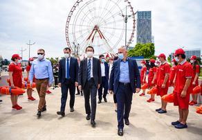 Правительство Японии передало грузинским пожарным автолестницу