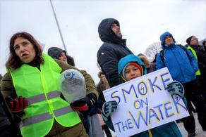 Bulgarians remained without water go for the march of protest