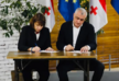 Two Georgian opposition political parties sign Memorandum of Cooperation