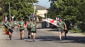 В Сенаки прошел марафон Сил обороны Грузии