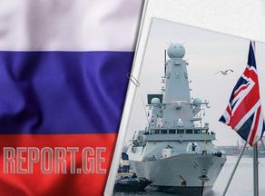 Россия открыла огонь по британскому кораблю в Черном море