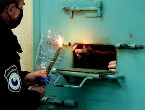 წმინდა ცეცხლი საპატიმროებში მიიტანეს - PHOTO