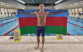 Azerbaijani swimmer wins gold medal at the Paralympic Games