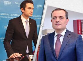Kakhaber Kuchava meets Azerbaijani Foreign Minister