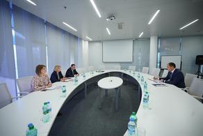 Natia Turnava meets with new Sec-Gen of TRACECA