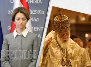Екатерина Тикарадзе встретится сегодня с Патриархом