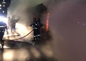 Пожар на Кавтарадзе ликвидирован