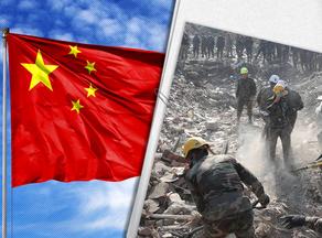 В Китае результате схода оползня погибли 5 человек