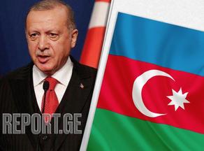 Erdogan arrives at Azerbaijani Milli Majlis