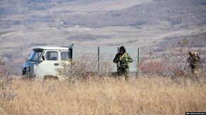 На территории близ села Атоци находится грузинская полиция