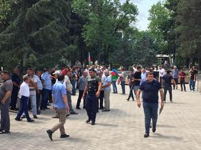 Azerbaijanis living in Georgia holding rally in support of peace  - PHOTO