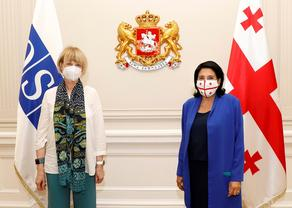 Georgian President meets OSCE Sec-Gen