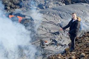 ისლანდიაში მოქმედი ვულკანი აუქციონზე იყიდება