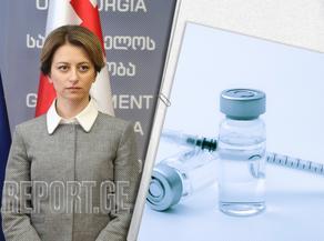 Ekaterine Tikaradze: Pfizer is the most trendy vaccine
