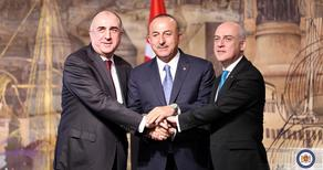 Ministers of Foreign Affairs of Azerbaijan and Turkey visit Georgia