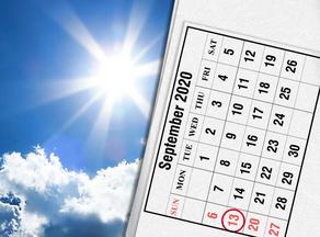 Прогноз погоды на 13 сентября