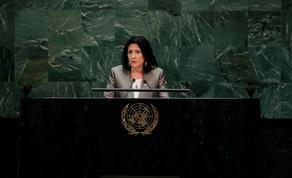 პრეზიდენტი: ჟენევის ფორმატი კონფლიქტის გადაჭრის ინსტრუმენტი უნდა გახდეს