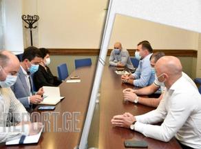 Теа Цулукиани встретилась с руководством Национальной федерации борьбы