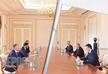 Mayor of Tbilisi meets President of Azerbaijan