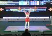 Weightlifter Natia Gadelia wins world champion title