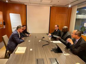 ეკონომიკის მინისტრის მოადგილე მსოფლიო ბანკის ვიცე-პრეზიდენტს შეხვდა