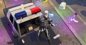 პოპულარული თამაშიდან Fortnite პოლიციის მანქანები ამოიღეს
